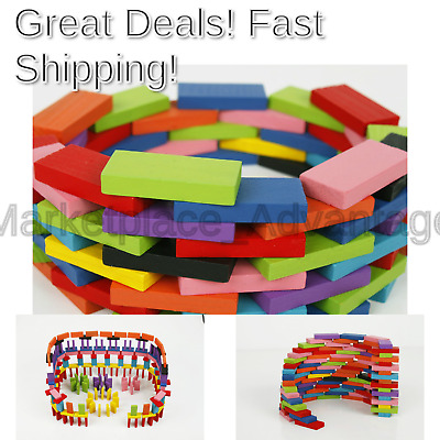 MWZ 100pcs wooden blocks domino game Chinese Characters English Letter anim R5M1