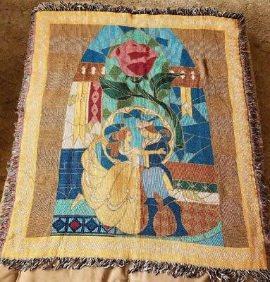 Disney Beauty And The Beast Throw Blanket