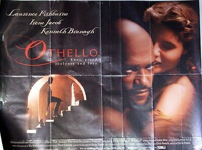 OTHELLO,Film Poster,Laurence Fishburne, Kenneth Branagh,Jacob,30''x 40'' 1995