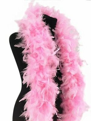 Deluxe Light Pink Feather Boa – 100g -180cm