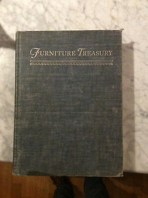Furniture Treasury (mostly Of American Origin) (W.Nutting, 1949) Acceptable