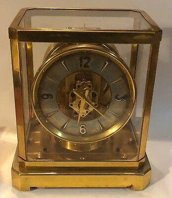 Jeager Lecoultre Atmos Clock Serial No 43146 Early 519 made 1952 Vintage Running