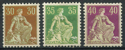 Switzerland 1908 MH 40% Helvetia seated