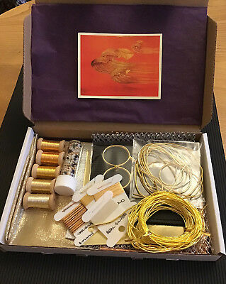 Goldwork Embroidery Materials Starter Box