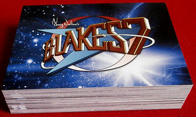 "BLAKE'S 7 - COMPLETE ""Blue Series"" BASE SET of 54 CARDS - Unstoppable Cards Ltd"