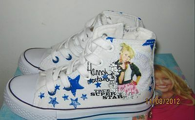 scarpe/sneakers bambina HANNAH MONTANA FOREVER nuove col.BIANCO n°28 idea regalo