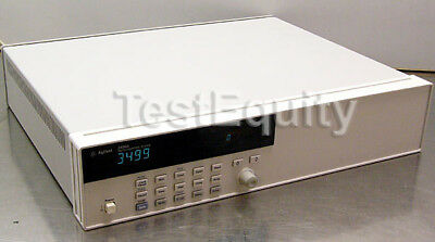 HP / Agilent 3499A 5-Slot Switch/Control Mainframe