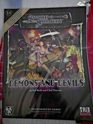 D&D 3 Demons and Devils Sword & Sorcery RPG Rollenspiel Fantasy Pathfinder