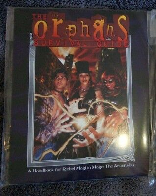 Magus die Erleuchtung Mage the Ascension Orphans survival Guide RPG Rollenspiel