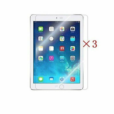 """3X Clear Screen Protector for Apple iPad iPad 5th 6th Generation 9.7"""" 2018 2017"""