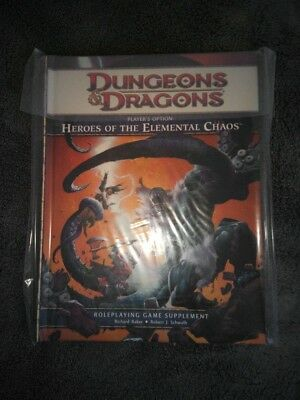 D&D 4 Heroes of the Elemental Chaos RPG Rollenspiel Fantasy