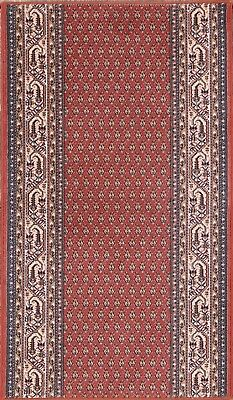 Spectacular! Botemir Wool Red Machine Made Oriental Area Rug 3x5