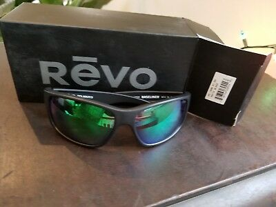7d651766e14 Revo Sunglasses Baseliner Polarized RE 1006 01 GY 61-14-126 Made in Italy