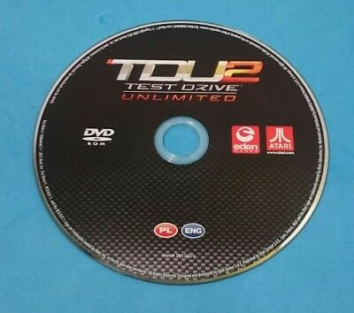 Juego Pc Cd-Rom Solo Disco - Tdu2 - Test Drive Unlimited