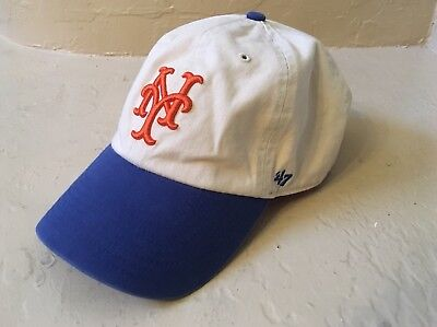 fbe050c3103 Baseball Hat  47 Brand Clean Up Adjustable Classic - New York Mets E