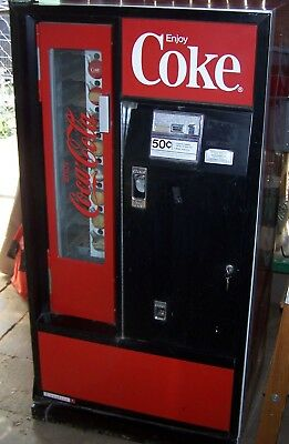 Coca Cola Machine Cavalier Model Bottles OR Cans
