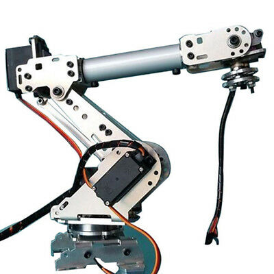 DIY 6-Dof Mechanical Robot Arm 6 Axis Rotating for Arduino Learning Kits