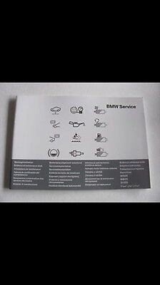 Carnet D'entretien Bmw Mini Cooper Clubman One S Sd