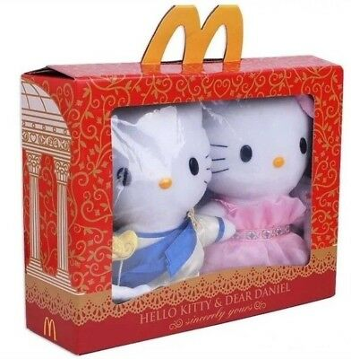 McDonald x Hello Kitty Cupid Doll Plush Toy for Valentine's Day Limited Edition