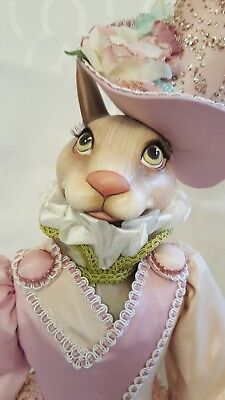 Katherine's Collection Victorian Bunny Rabbit 24 inches