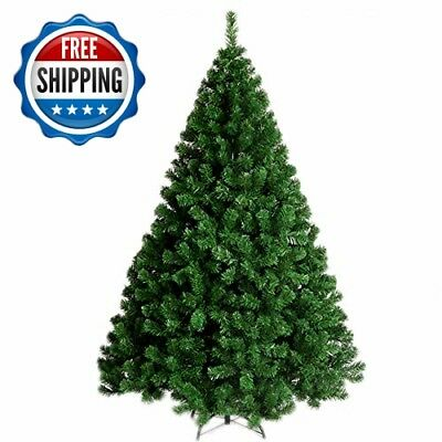 YOURFUN 6FT 900Tips Premium Hinged Artificial Christmas Pine Tree 4-7FT Easy Ass
