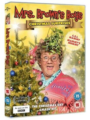 Mrs Browns Boys - Christmas Surprises DVD (2018) - Free 1st Class P&P