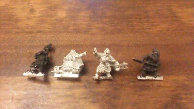 DWARF WARRIORS - Lord Of The Rings 4 Metal Figure(s)