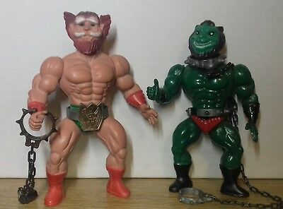 Masters of the Universe Galaxy Warriors Muscle Fighters Turly Gang 2 Figuren