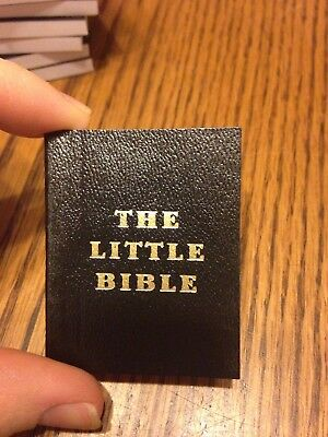 """The Little Bible"" By David C. Cook Miniature Book"