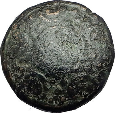ALEXANDER III the Great 325BC Macedonia Ancient Greek Coin SHIELD HELMET i62214