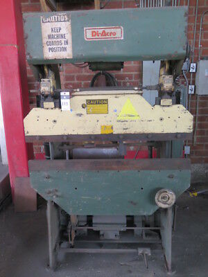 17 Ton x 4' Di-Acro 14-48-2 Power Press Brake Sheet Metal Bender