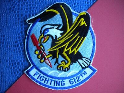 "612th Tactical Fighter Squadron ""FIGHTING 612TH"" USAF Patch"