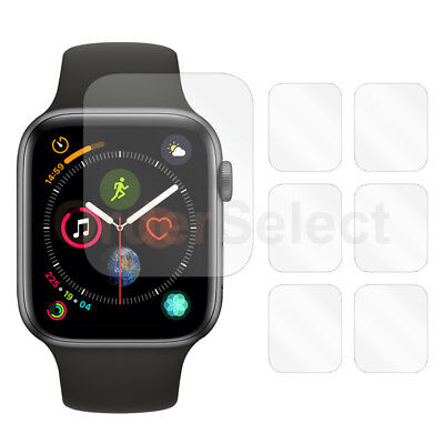 6X LCD Ultra Clear HD Screen Protector for Apple iWatch Watch 4th Gen 44mm