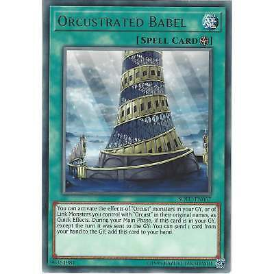 Yu-Gi-Oh TCG: Orcustrated Babel - SOFU-EN057 - Rare Card - Unlimited Edition