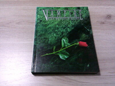 Vampire The Masquerade 3rd Core Rulebook Revised Edition HC 1998 White Wolf 2300