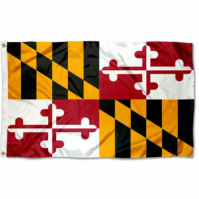 State of Maryland Flag for Flagpole