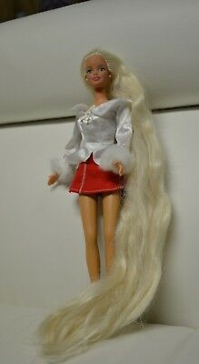 Barbie Doll Long Hair 1991 Mattel Totally Christmas Outfit Extra
