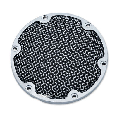 Kuryakyn Chrome Mesh Cage Derby Cover Trim Accent Harley Sportster Bobber 04-17
