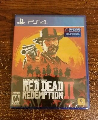 Red Dead Redemption 2 PS4 Sealed Brand New