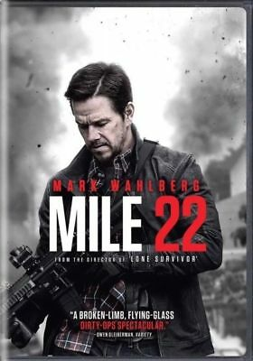 """mile 22"" Dvd 2018""  Dvd,  Free Shipping Factory Sealed  Brand New"