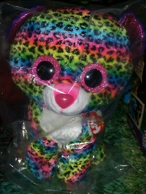 fd08a510680 TY Beanie Boo - Dotty The Leopard Large approx 40cm