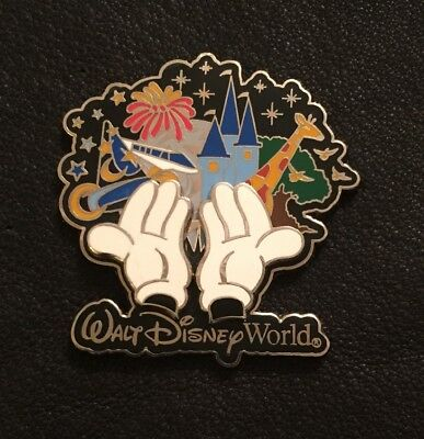 White Glove Mickey Mouse Hands 3D 2004 Disney Pin 4 Park Icons pinpics # 26478