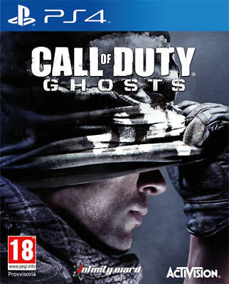 Call Of Duty Ghosts Ps4 Gioco Nuovo Sigillato Pal Italiano Sony Playstation 4