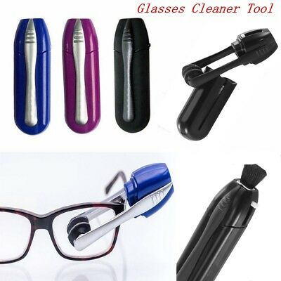 1PC Eyeglass Cleaner Brush Sunglass All In One Glasses Lens Cleaning Tool
