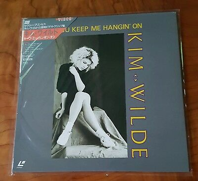 Kim Wilde - You Keep Me Hangin' On 1987 Japan Print Obi Ntsc Mca Laserdisc