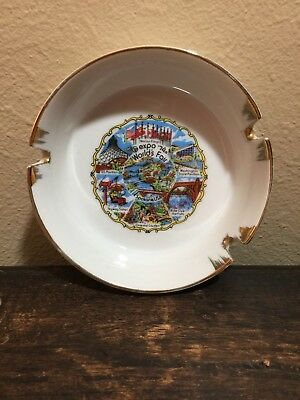 1974 World's Fair Ashtray Spokane Washington