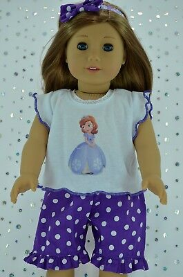 "Doll Clothes For 18"" American Girl~Our Generation~Journey PANTS~TOP~HEADBAND"