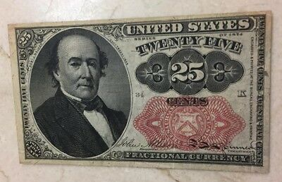 Twenty Cents Fractional Note ( Series Of 1874) XF
