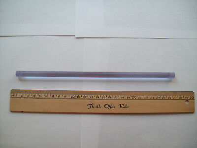 Silicate Nd:glass laser rod, 9.5 mm dia. x 260 mm length, new, vintage