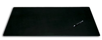 Dacasso Leatherette Office Desk Pad, 34 by 20-Inch, Black